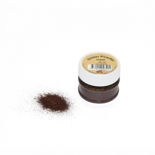 Glitry hnědé - brown 25ml